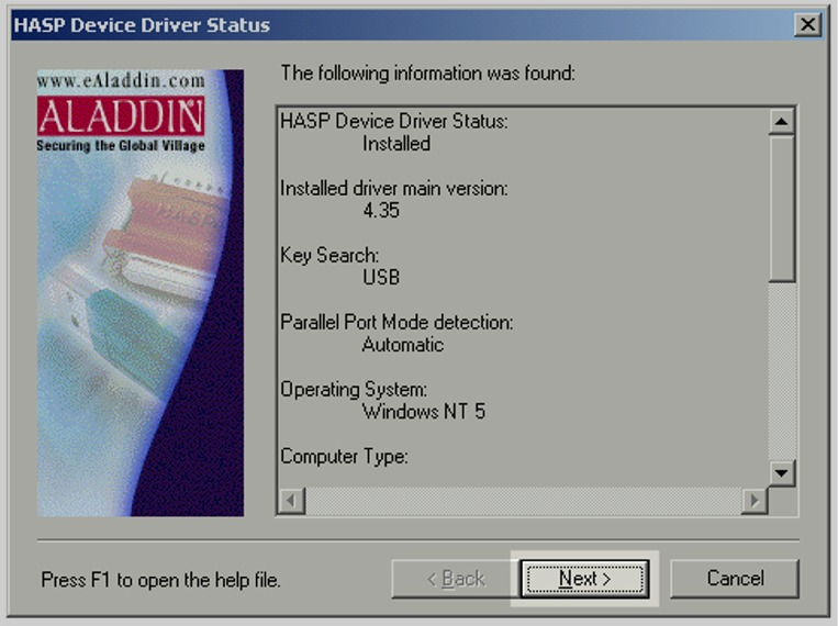 Latest Version Aladdin Hasp Hl Dongle Drivers