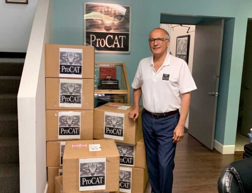 ProCAT Donates to Project Steno